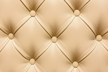 Background of beige leather