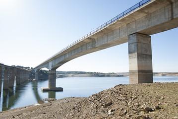 Manzanal Esla bridge. Zamora (Spain)