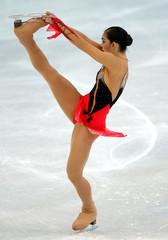 SILVIA FONTANA OF ITALY SKATES AT THE EUROPEAN FIGURE SKATINGCHAMPIONSHIPS.