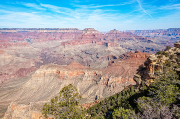 View from Yaki Point in Grand Canyon, Arizona