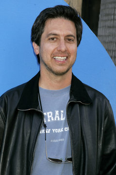 """US actor Ray Romano arrives as a guest at """"The Simpsons"""" 350th episode party in Los Angeles."""