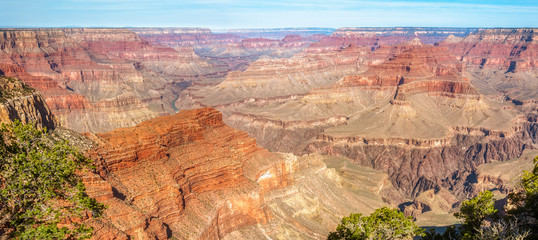 Amazing panorama view of Grand Canyon at Hopi Point, Arizona, USA.