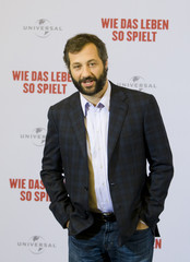 U.S. director Apatow's attends a photo call promoting his latest movie 'Funny People' in Berlin