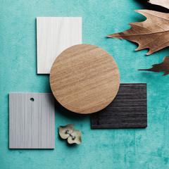 Interior design mood board color scheme