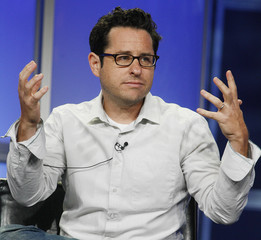 """J.J. Abrams, executive producer of the new drama series """"fringe"""" takes part in a panel discussion at the Fox TV network summer press tour in Beverly Hills"""