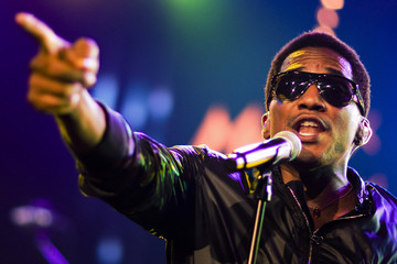 U.S. rapper Fareed, also known as Q-Tip, performs during 43rd Montreux Jazz Festival