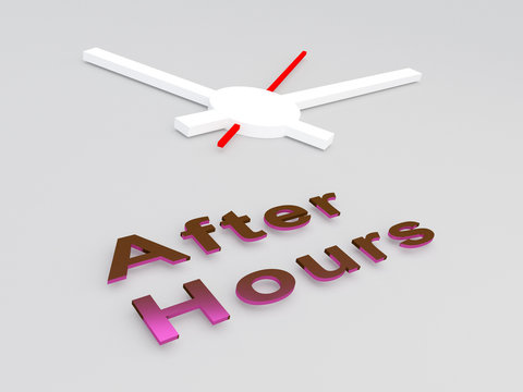 After Hours concept