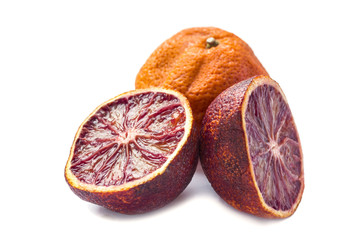 Sweet dried sicilian red mandarin orange
