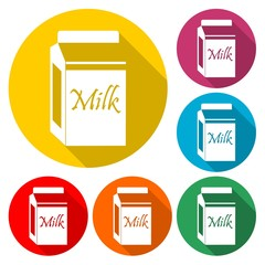 The milk - Illustration