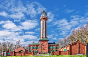 Leuchtturm Niechorze Westpommern Ostseeküste