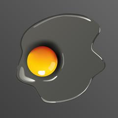 œuf, œuf cru, œuf au plat, aliment, cuisine, ingrédient, nutrition,