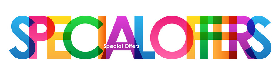 SPECIAL OFFERS marketing banner