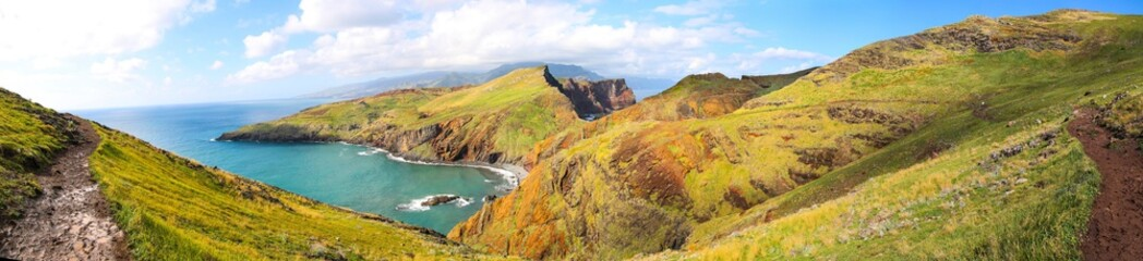 Panorama der Halbinsel Ponta de São Lourenço auf Madeira