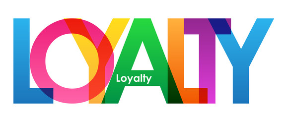 LOYALTY Vector Letters Icon