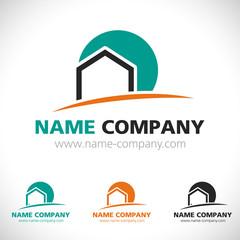 logo construction maison
