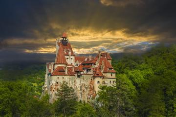 Wall Mural - Bran castle, Brasov landmark, Transylvania, Romania.
