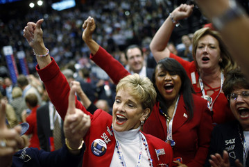 Nevada delegates cheer on fourth and final day of Republican National Convention in St. Paul
