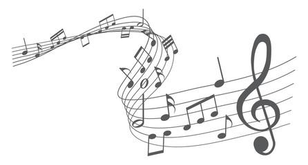 Musiknoten, Musik, Melodie