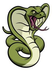 Cobra Snake Viper Mascot