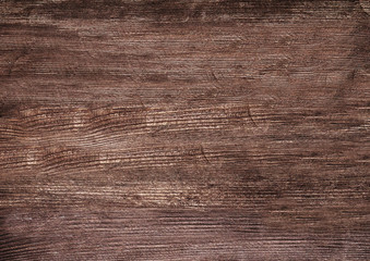 Dark wooden texture. Wood brown texture. Background old panels. Retro wooden table. Rustic background. Vintage colored surface
