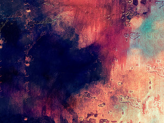 Pink grunge painting abstract background illustration