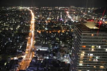 岐阜夜景(シティータワー北向き)