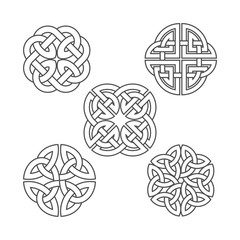 Vector celtic knot. Ethnic ornament.