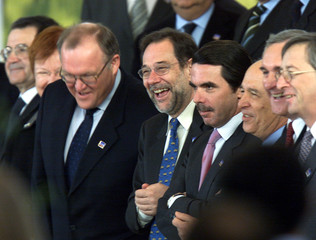 EUROPEAN LEADERS GATHER ON SECOND DAY OF EU SUMMIT IN STOCKHOLM.