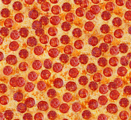 Pizza pepperoni. Background.