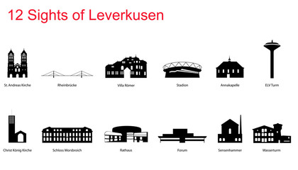 12 Sights of Leverkusen