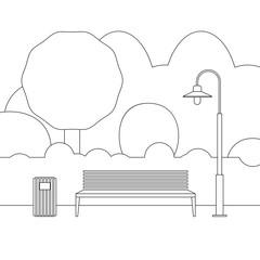 Line outdoor furniture