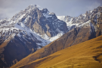 mountains in North Ossetia