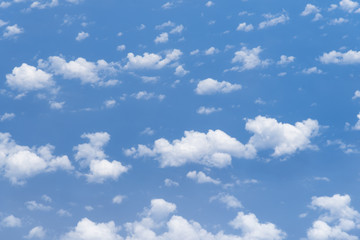 abstract background of blue sky
