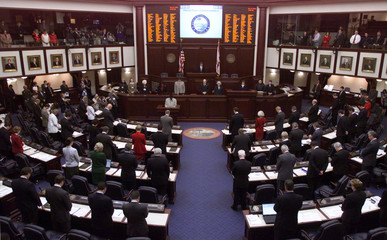 FLORIDA HOUSE MEETS IN SPECIAL SESSON TO CONSIDER NAMING ELECTORS.