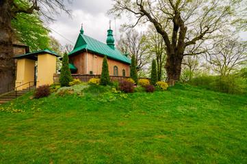 Orthoox church in Chłomcza