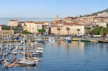 Center of Ajaccio, Corsica, France