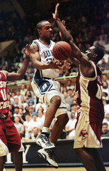 DUKE VS. BOSTON COLLEGE IN BASKETBALL.