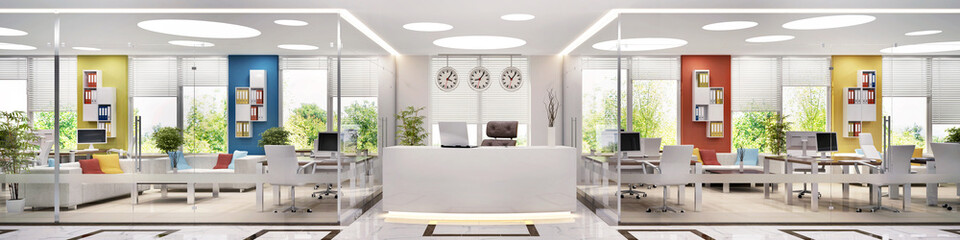 Large office and reception
