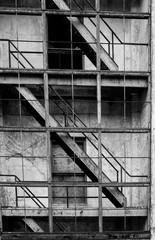 Photo sur Aluminium Bestsellers Abandoned architecture, Whittier, Alaska.