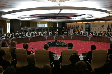 General view of the informal meeting of NATO defence ministers in Budapest