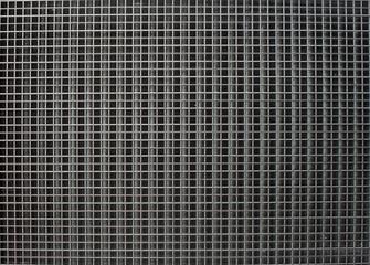 Metal texture. Grid. Square cells