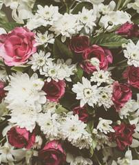 Beautiful vintage flower texture background