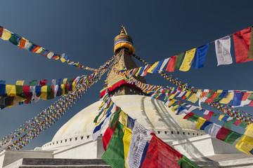 Stupa Boudhanath, Kathmandu, Nepal