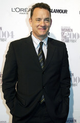 Actor Tom Hanks arrives at Glamour Magazine Women of the Year Awards.