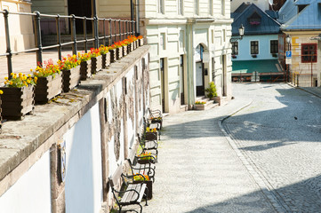 Cobble Street - Banska Stiavnica - Slovakia
