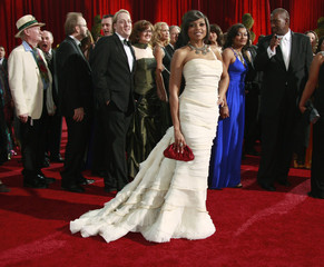 Taraji P. Henson, best supporting actress nominee, arrives at 81st Academy Awards in Hollywood