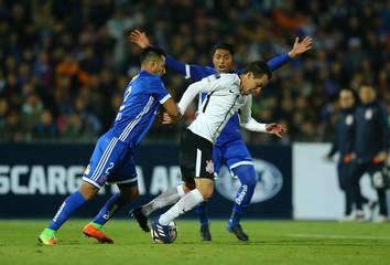 Football Soccer - Copa Sudamericana - Chile«s  Universidad de Chile v Brazil«s Corinthians -