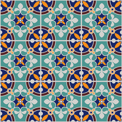 Moroccan Old Patterns Color