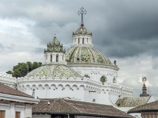 Church of the Society of Jesus (Iglesia de la Compañía de Jesús) Quito Ecuador Pichincha