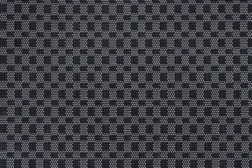 Weave mat pattern ,black and white plastic texture
